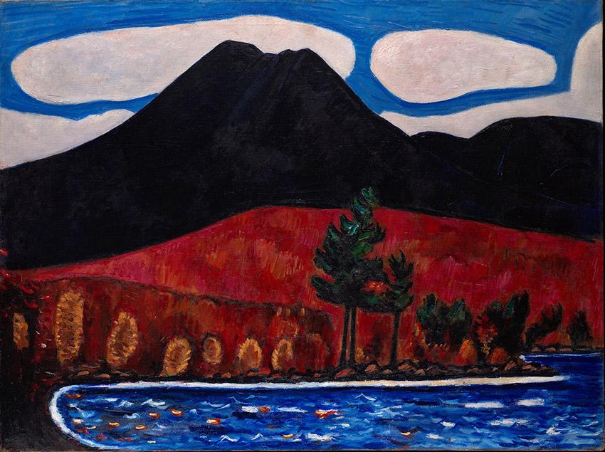 Mt Katahdin Painting