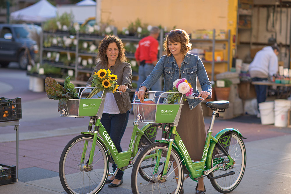 GREEN bikes Salt Lake