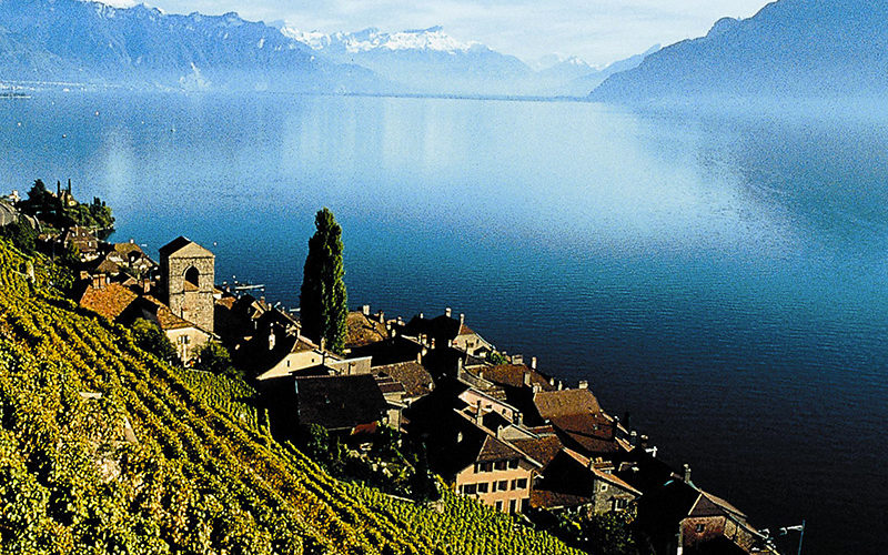 Lake Geneva Region of Switzerland