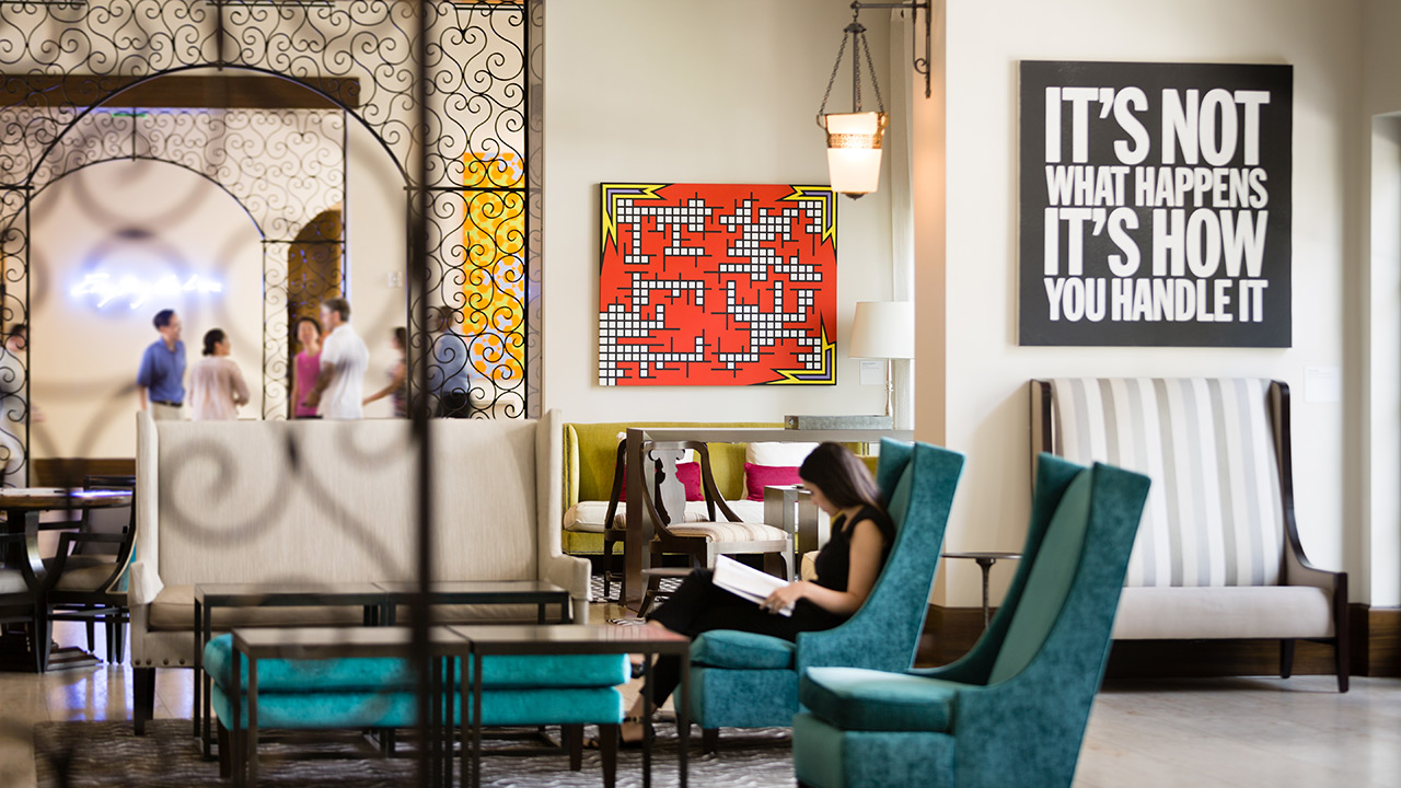 The Alfond Inn lobby